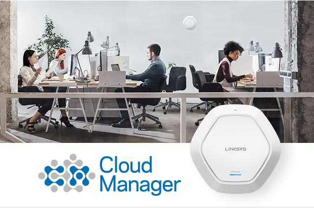 Cloud-Managed WiFi Built for Business