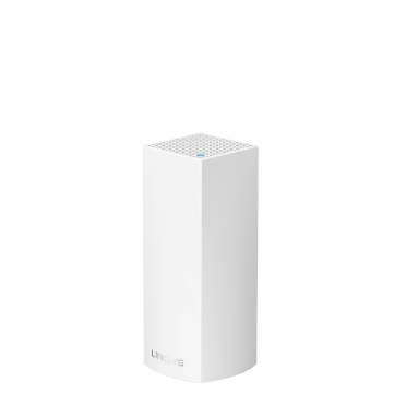 Linksys Velop Intelligent Mesh WiFi System, Tri-Band, 1-Pack White (AC2200)