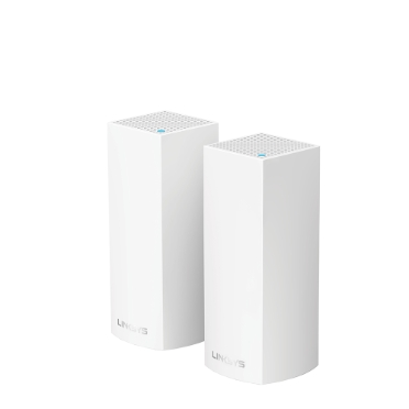 Linksys Velop Intelligent Mesh WiFi System TriBand 2-Pack (AC4400)