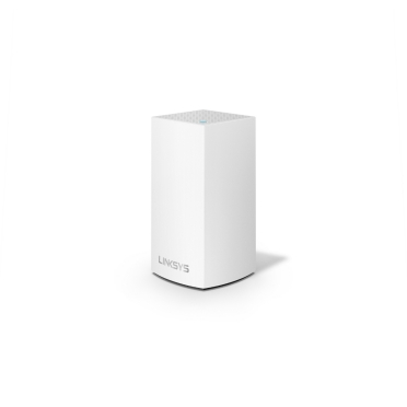 Linksys Velop Intelligent Mesh WiFi System, Dual-Band, 1-Pack White (AC1300)